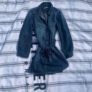 Girls old navy denim dress